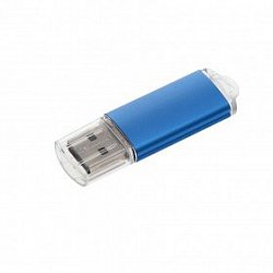 "USB flash-карта ""Assorti"" (8Гб); Синий; 5,5х1,7х0,6см; металл"